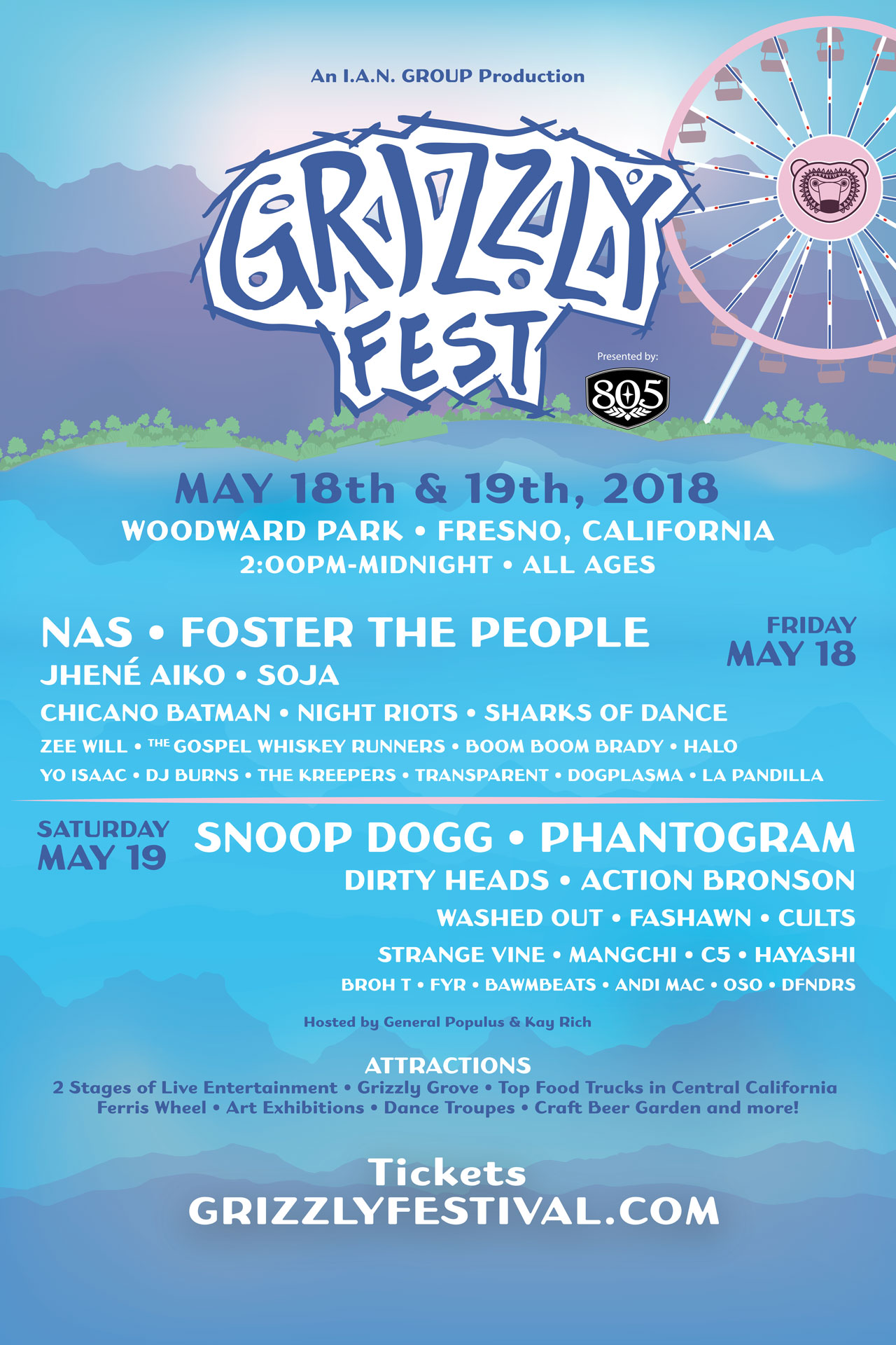 GRIZZLY FEST 2018s